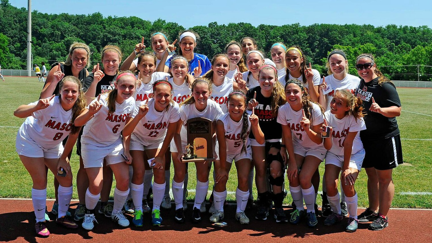 Mason Girls' Soccer Team Wins State Championship in 2018